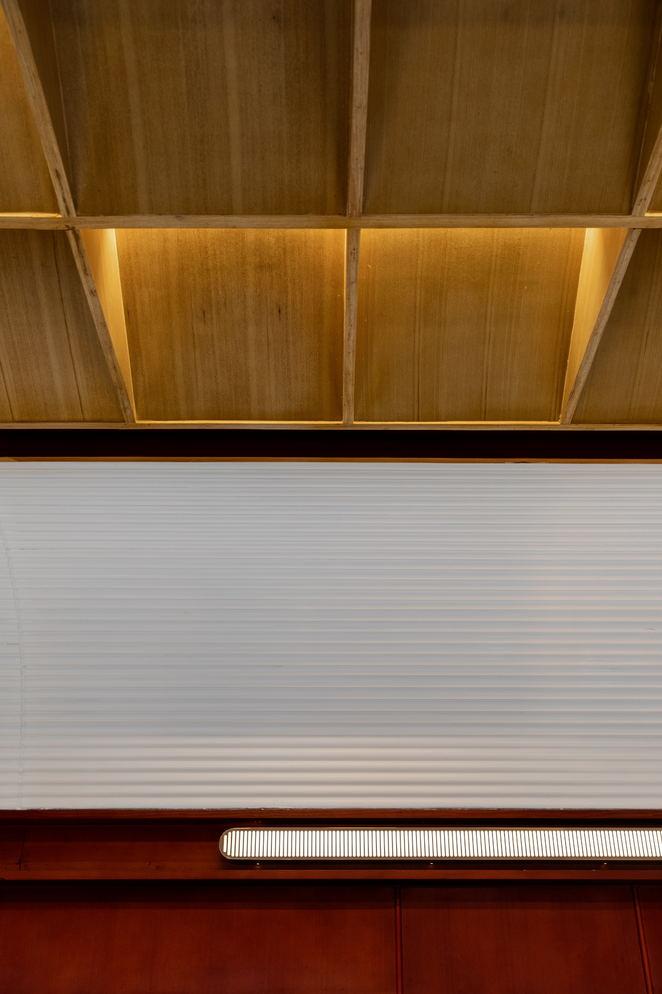 火锅店用餐区天花设计