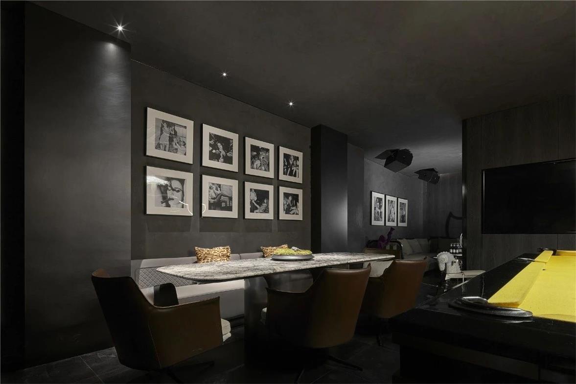 KTV娱乐室餐桌椅设计