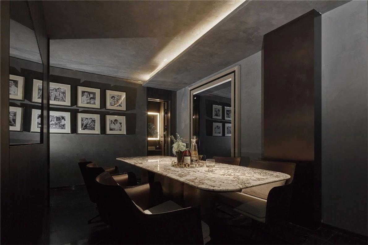 KTV餐桌区背景墙设计