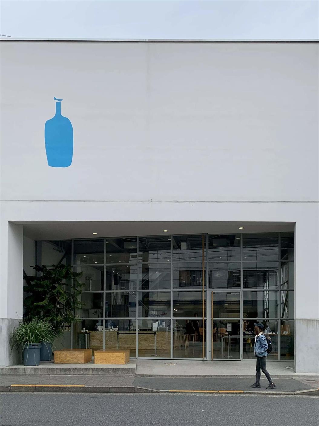 蓝瓶咖啡外立面设计