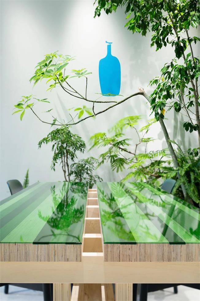 蓝瓶咖啡厅设计