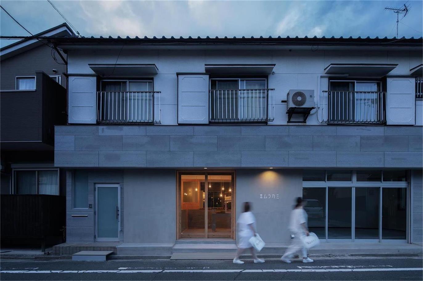 面包店建筑外立面设计