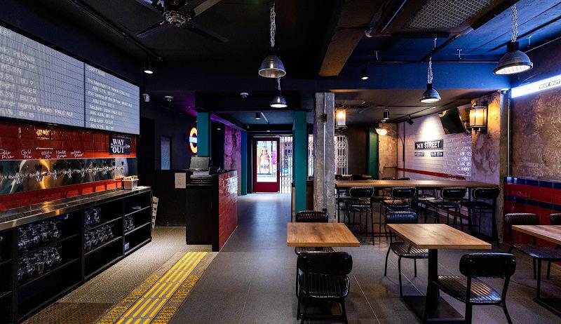 啤酒吧通道设计