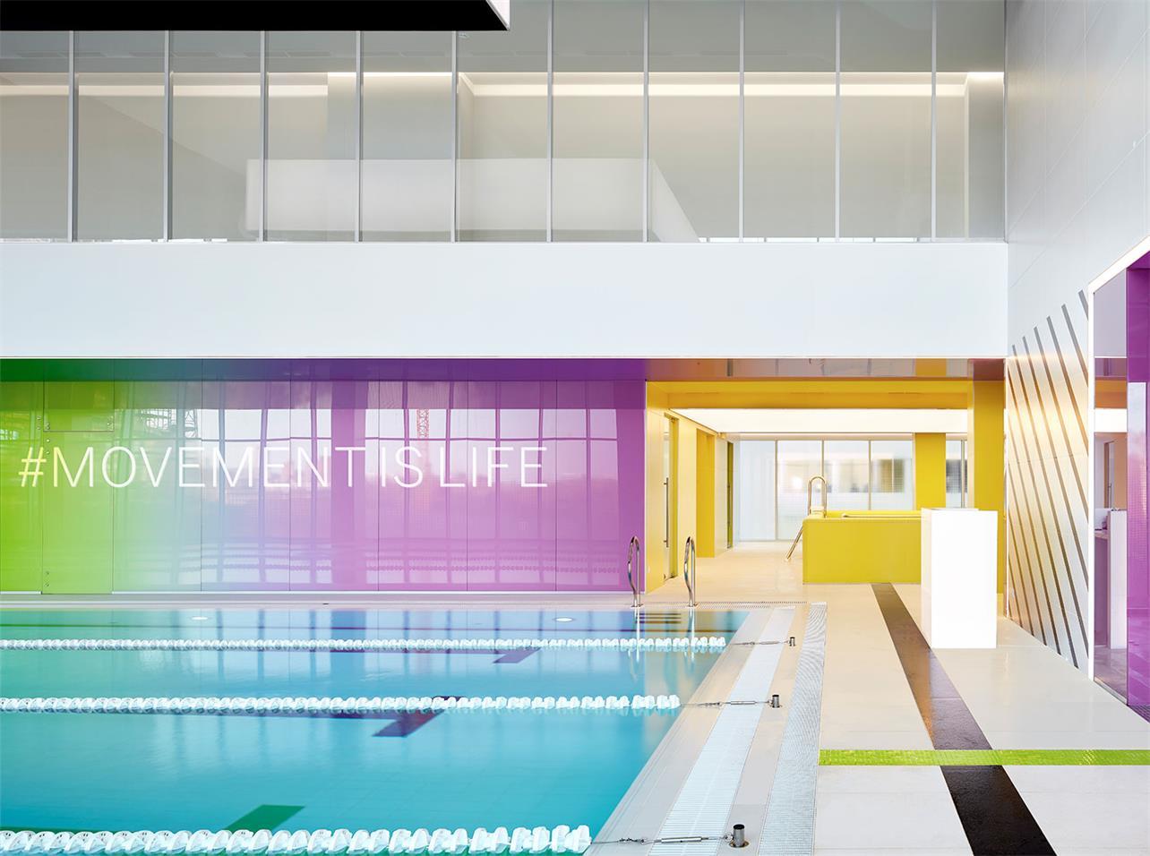 健身房游泳池设计