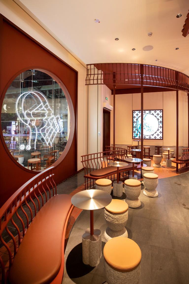 喜茶店设计
