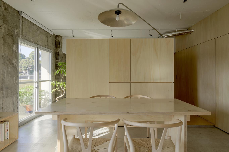 家装餐厅背景柜设计