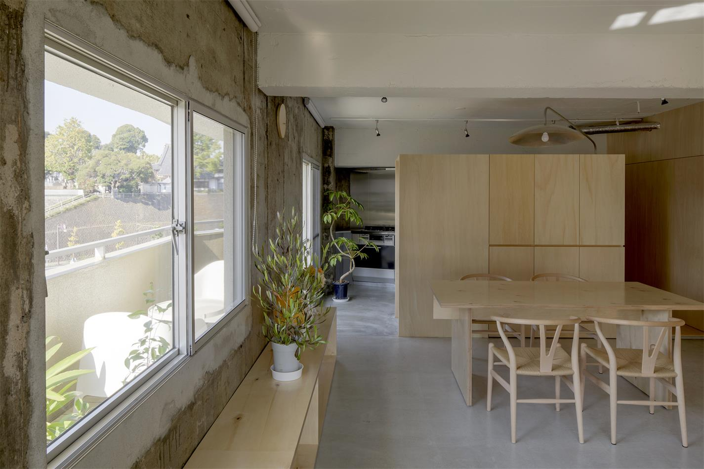家装沿窗走廊设计