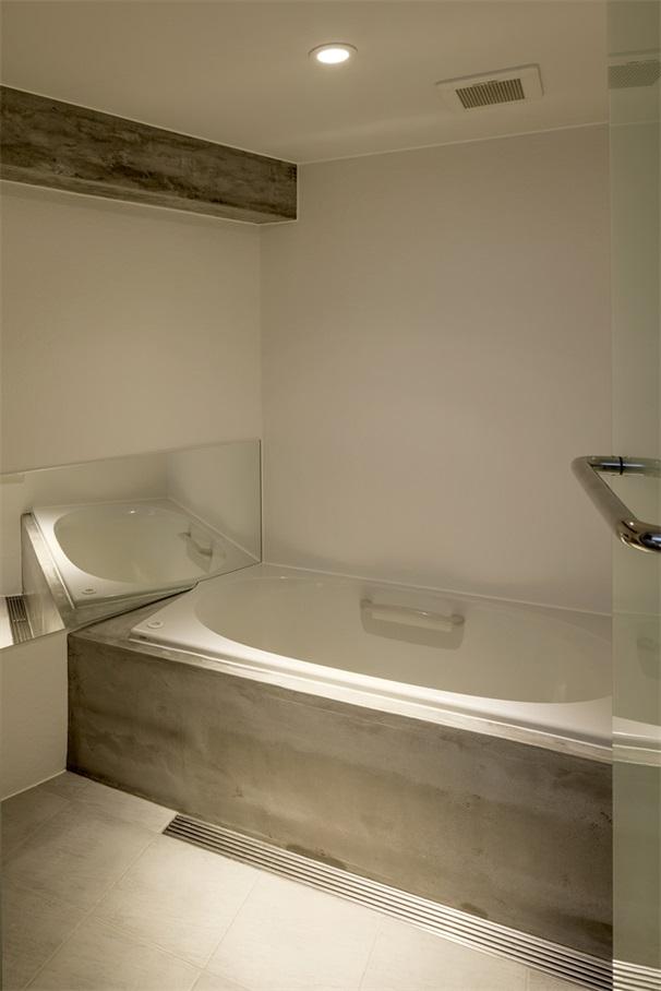 家装主卧浴缸设计