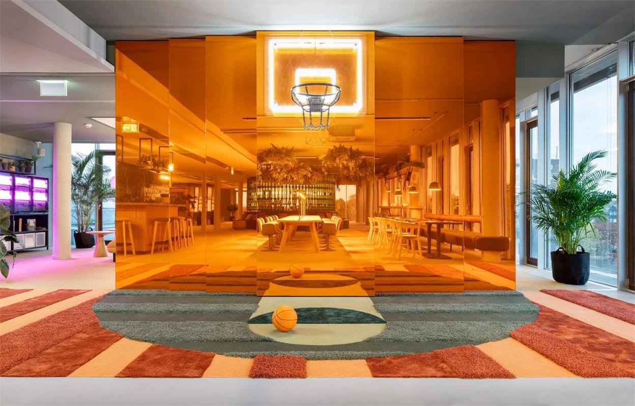 办公室模型篮球场的设计