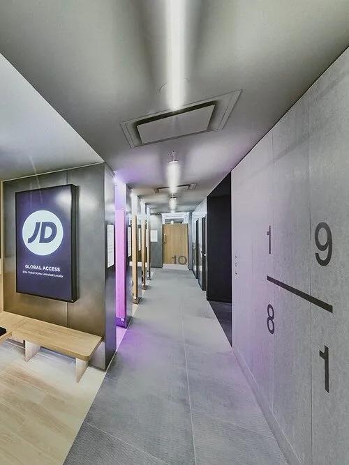 新零售空间二层走廊设计