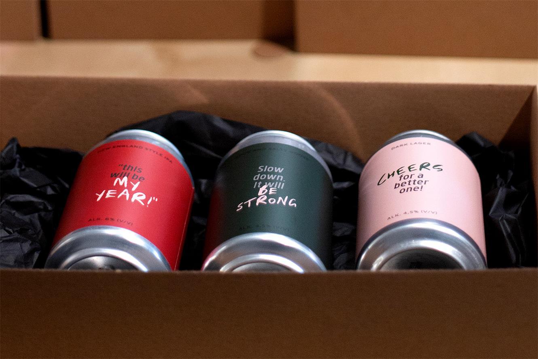 啤酒包装盒设计