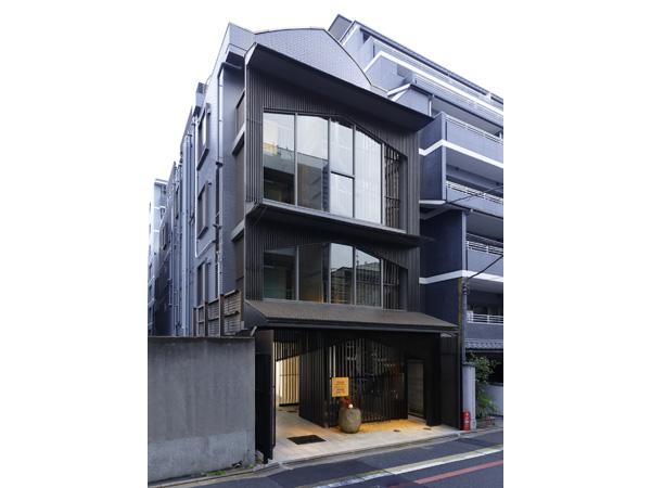 胶囊旅馆建筑外立面设计