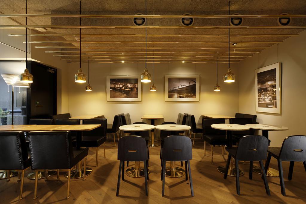 胶囊旅馆咖啡厅用餐区设计