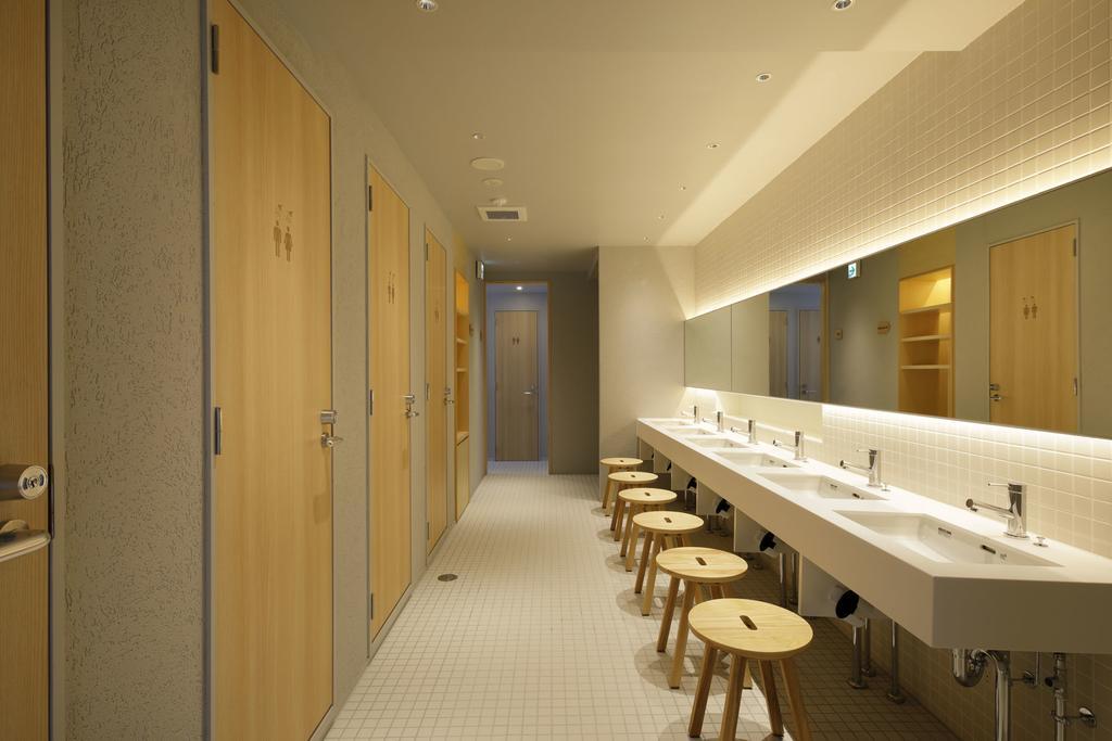 胶囊旅馆卫生间设计