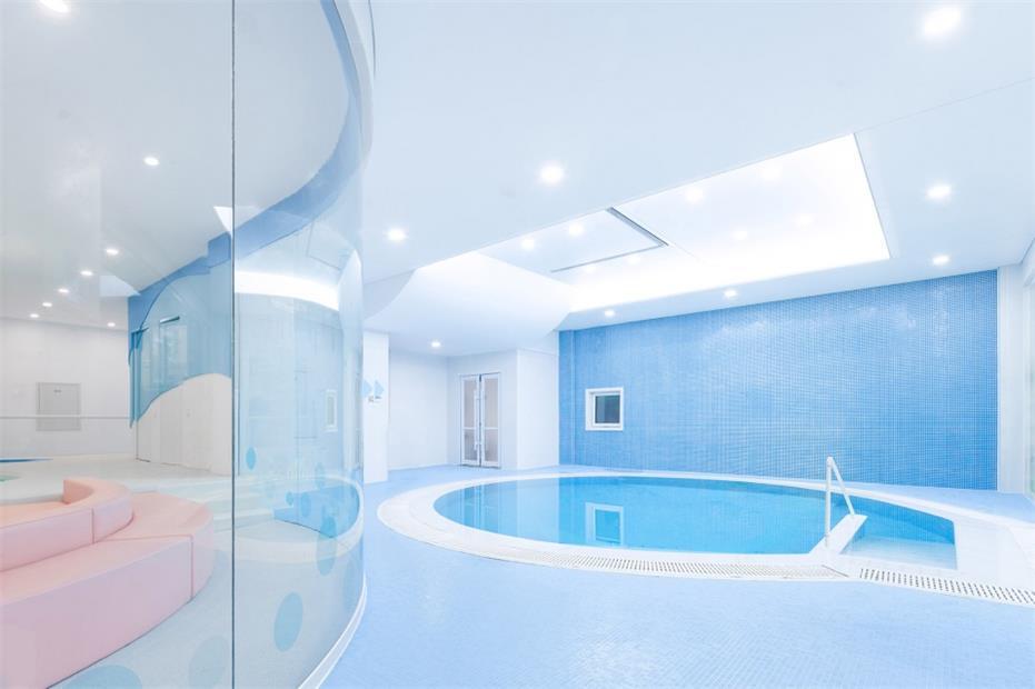 健身中心亲子游泳区设计