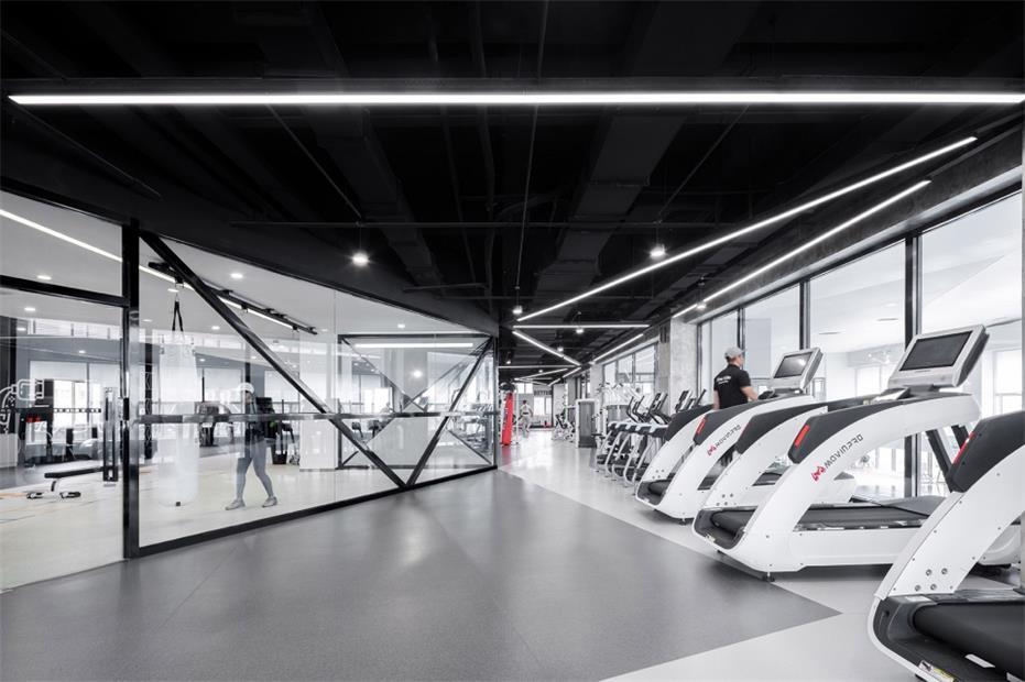 健身中心健身房设计