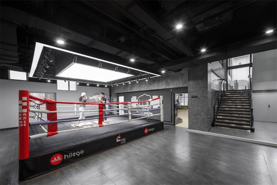 健身中心拳击馆设计