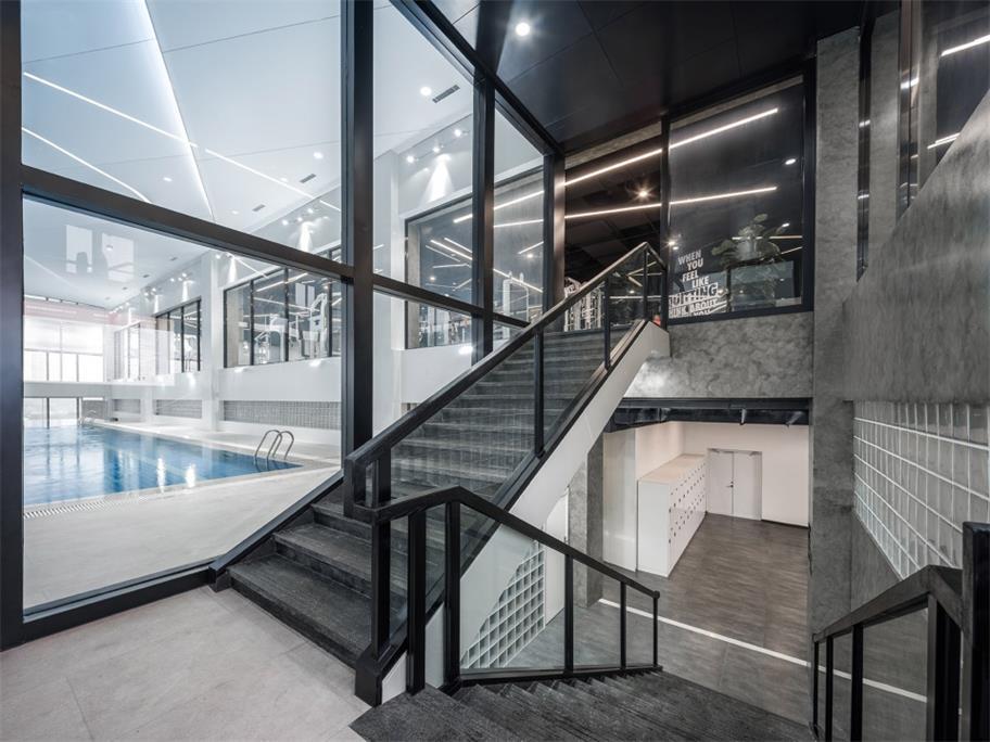 健身中心楼梯设计