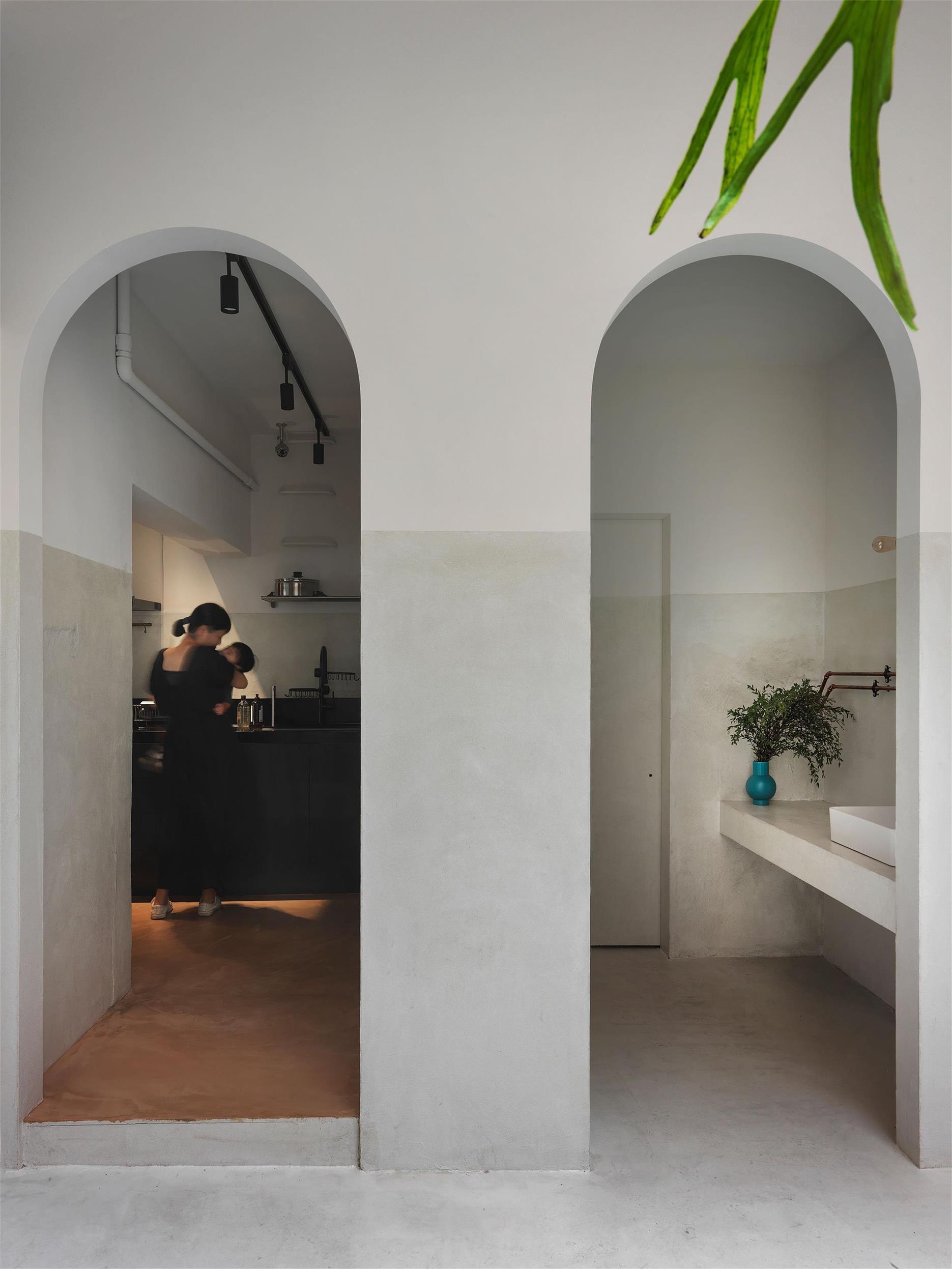 烘焙店拱门设计