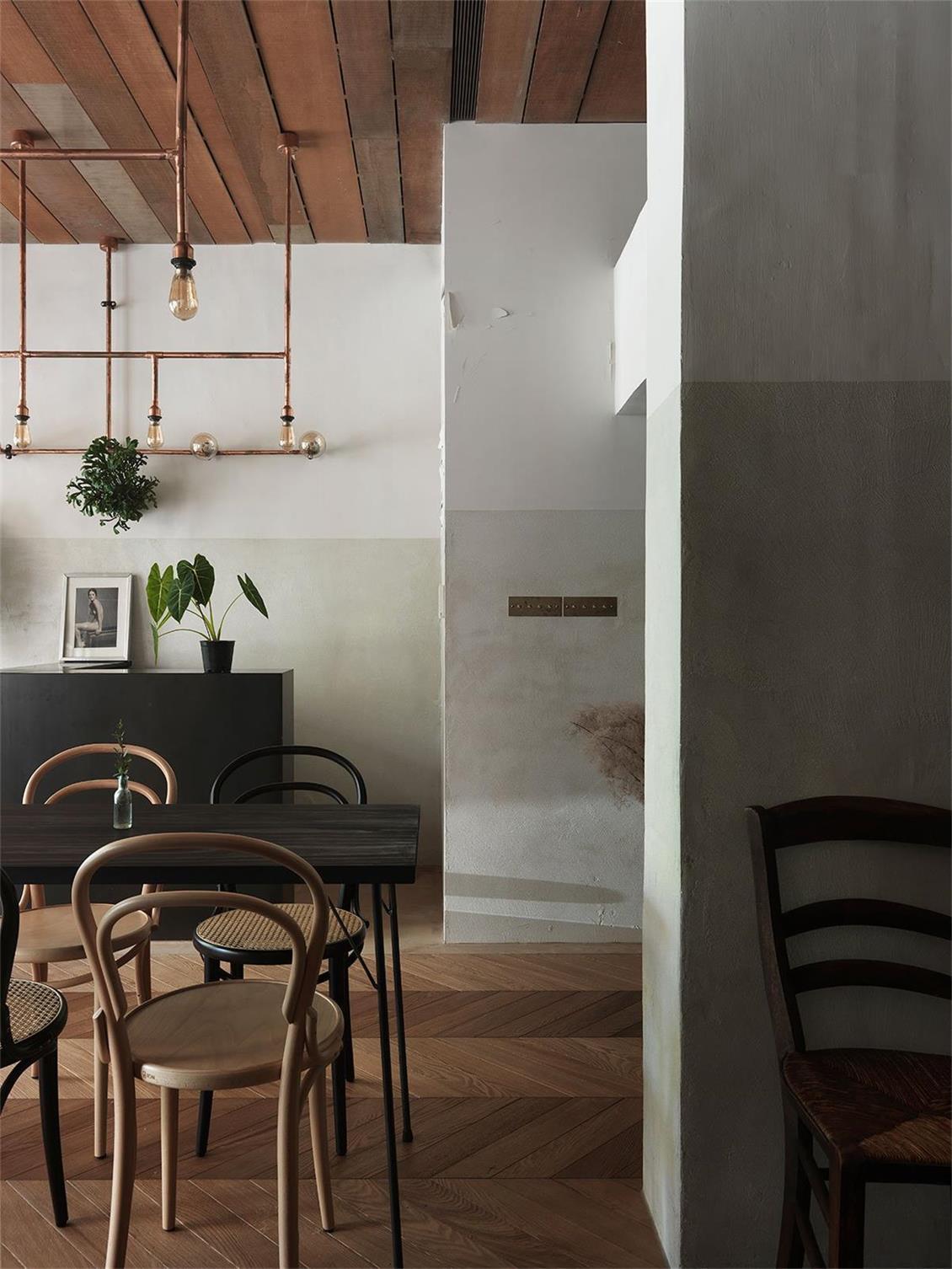 烘焙店墙面设计