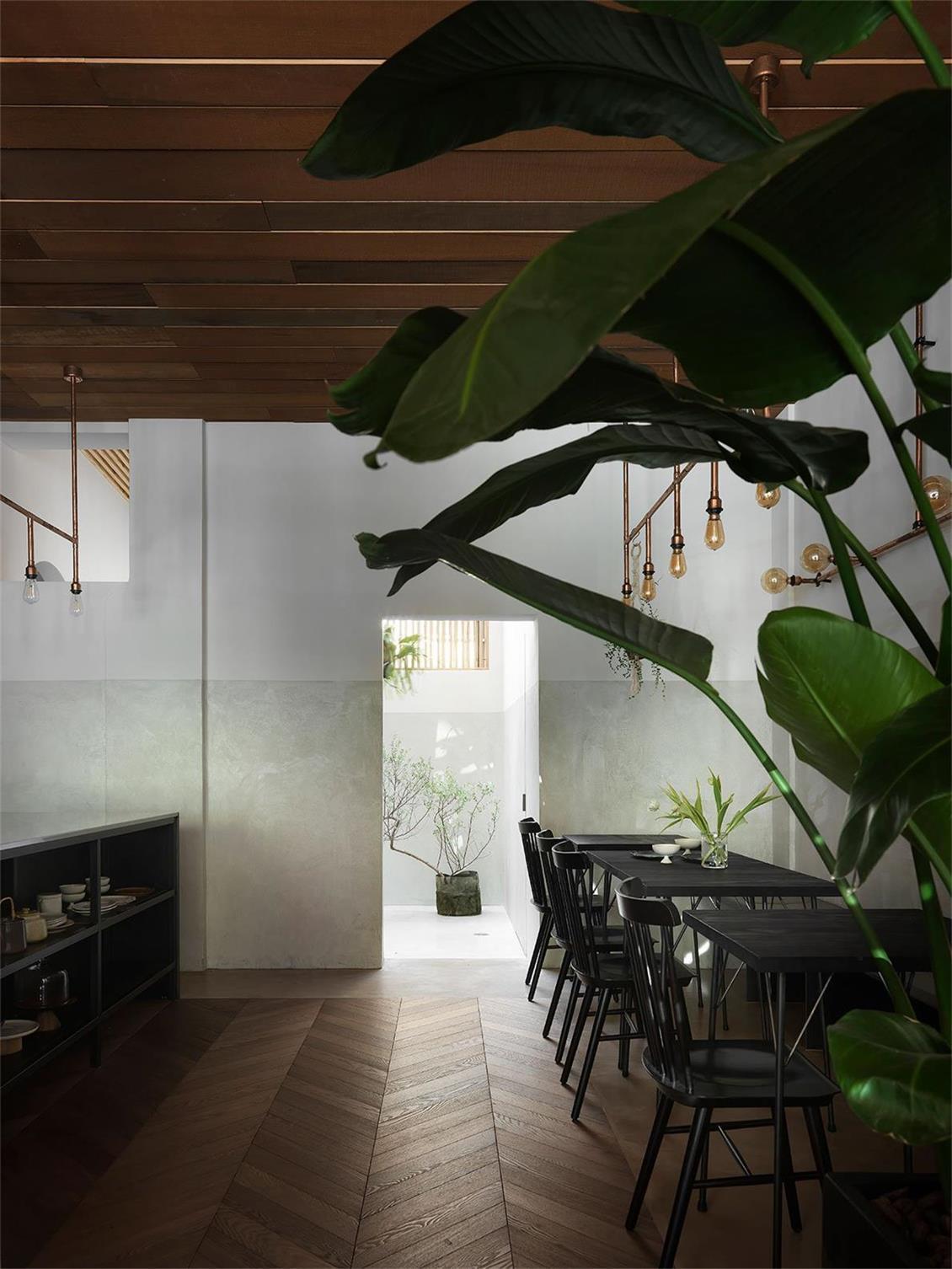 烘焙店绿植氛围设计