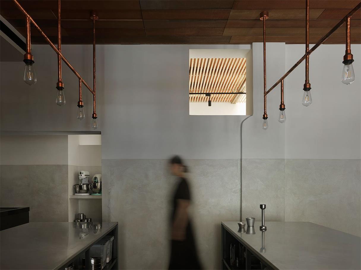烘焙店操作台设计