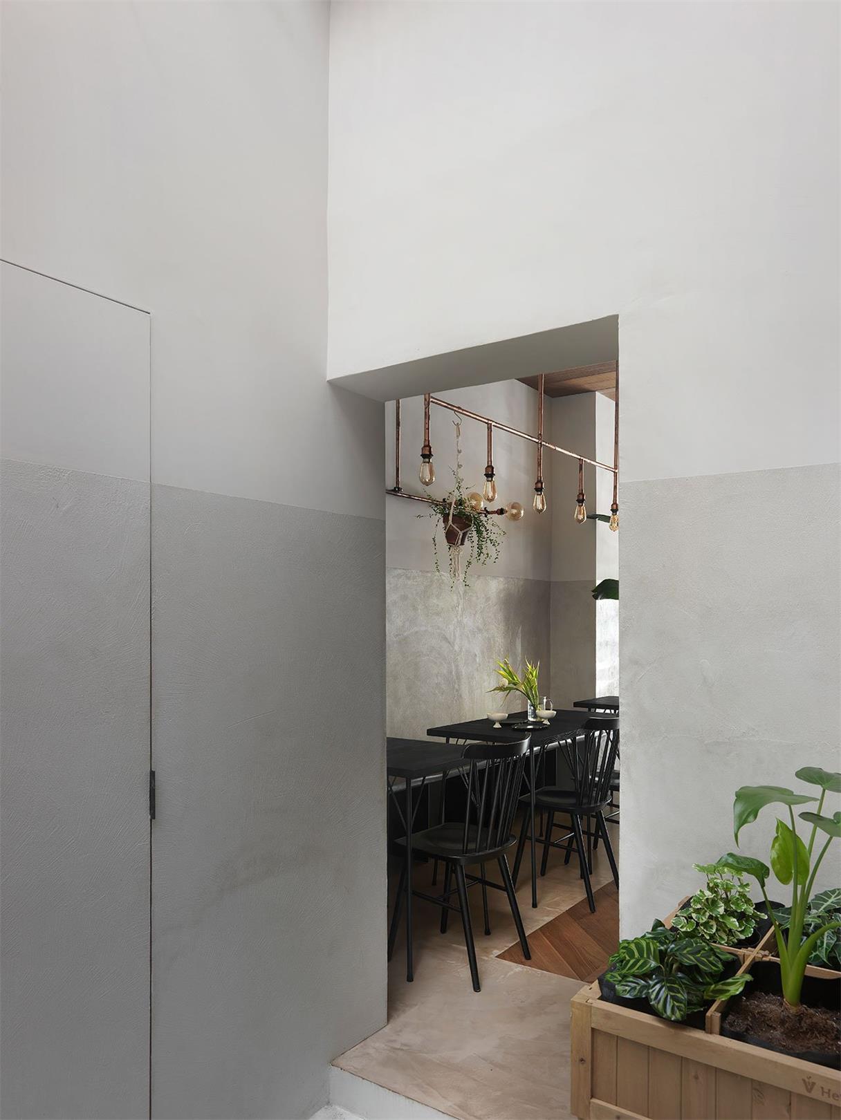 烘焙店门洞设计