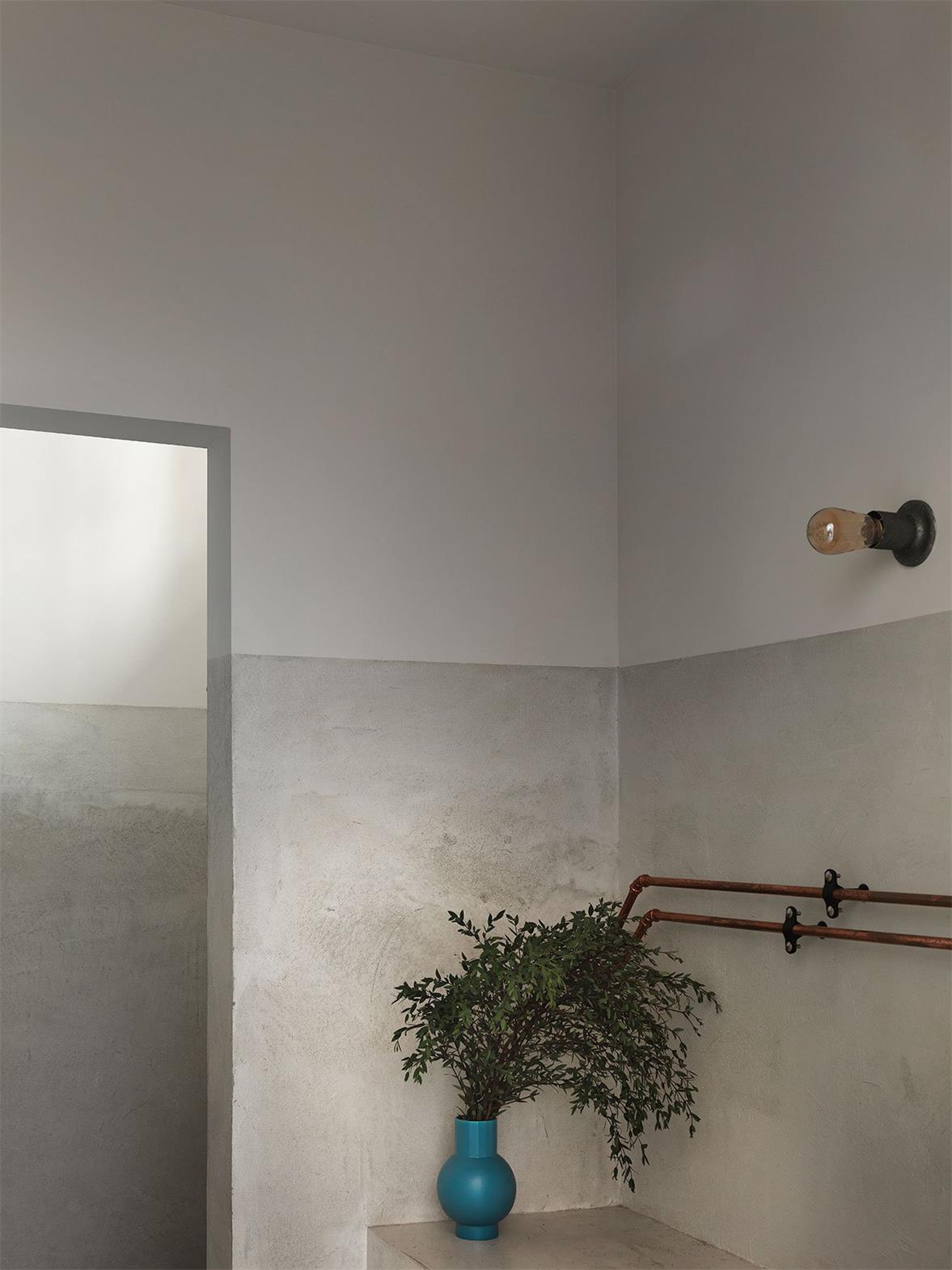 烘焙店洗手台软装设计