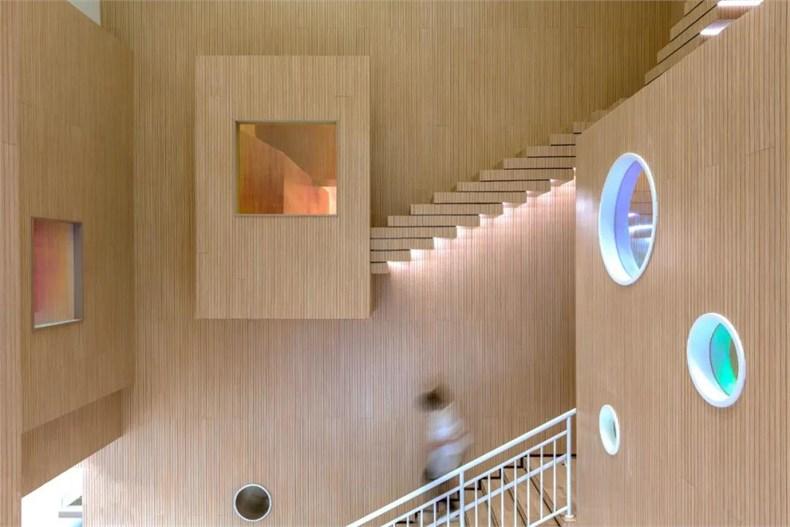 幼儿园建筑造型各种窗口设计