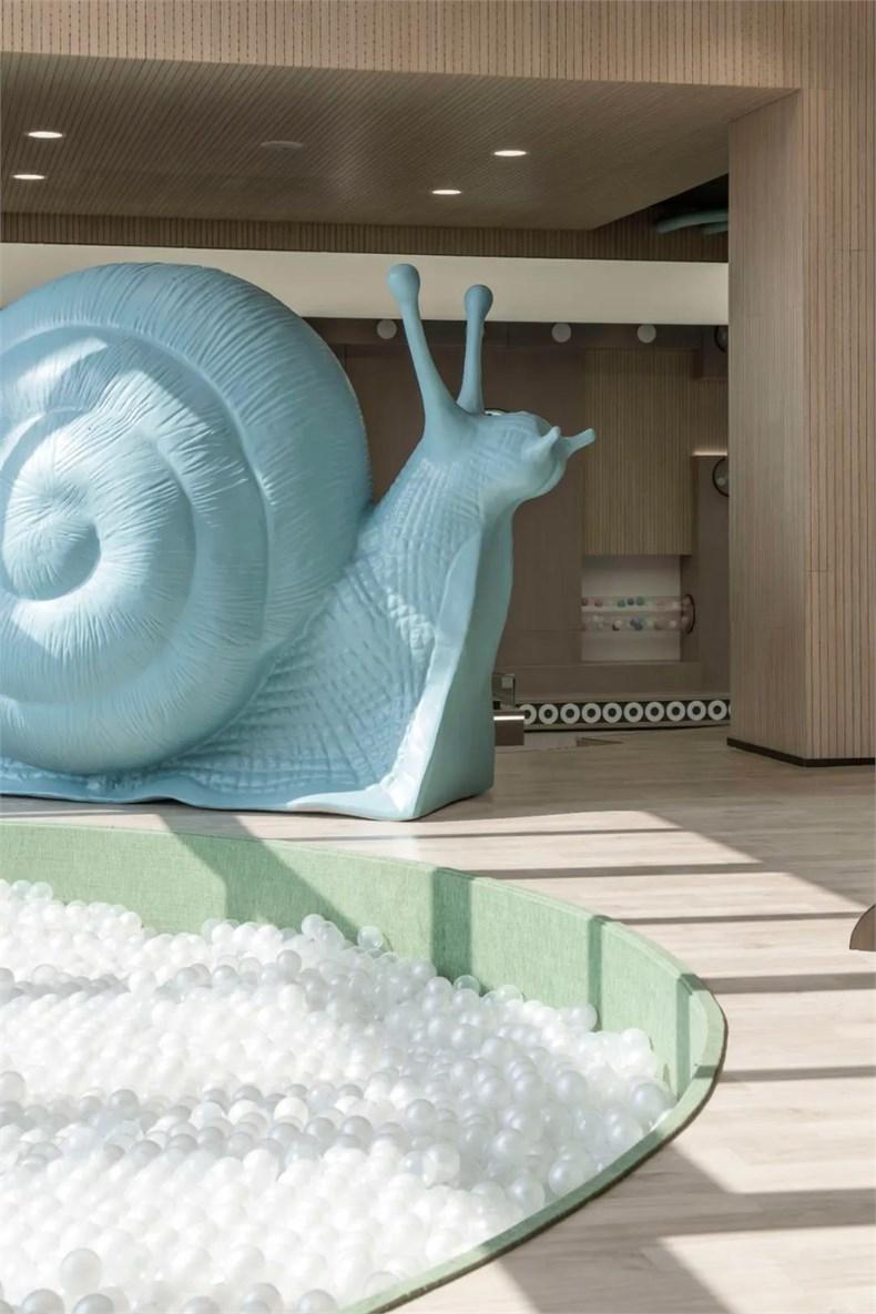 幼儿园蜗牛造型设计