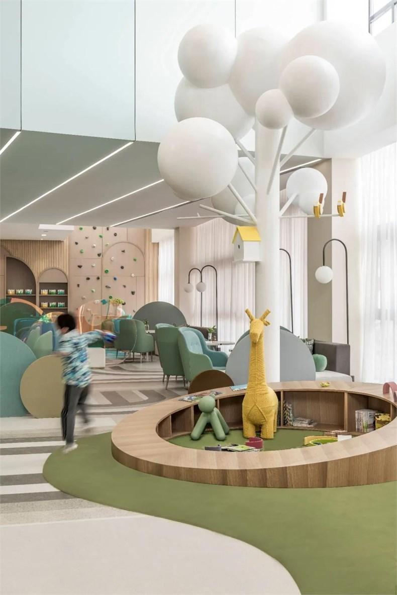 幼儿园洽谈区艺术造型设计