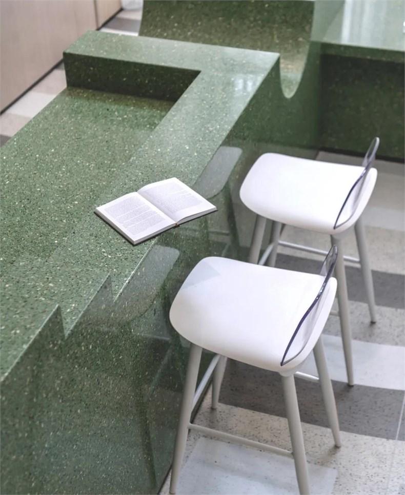 幼儿园茶水吧台面设计