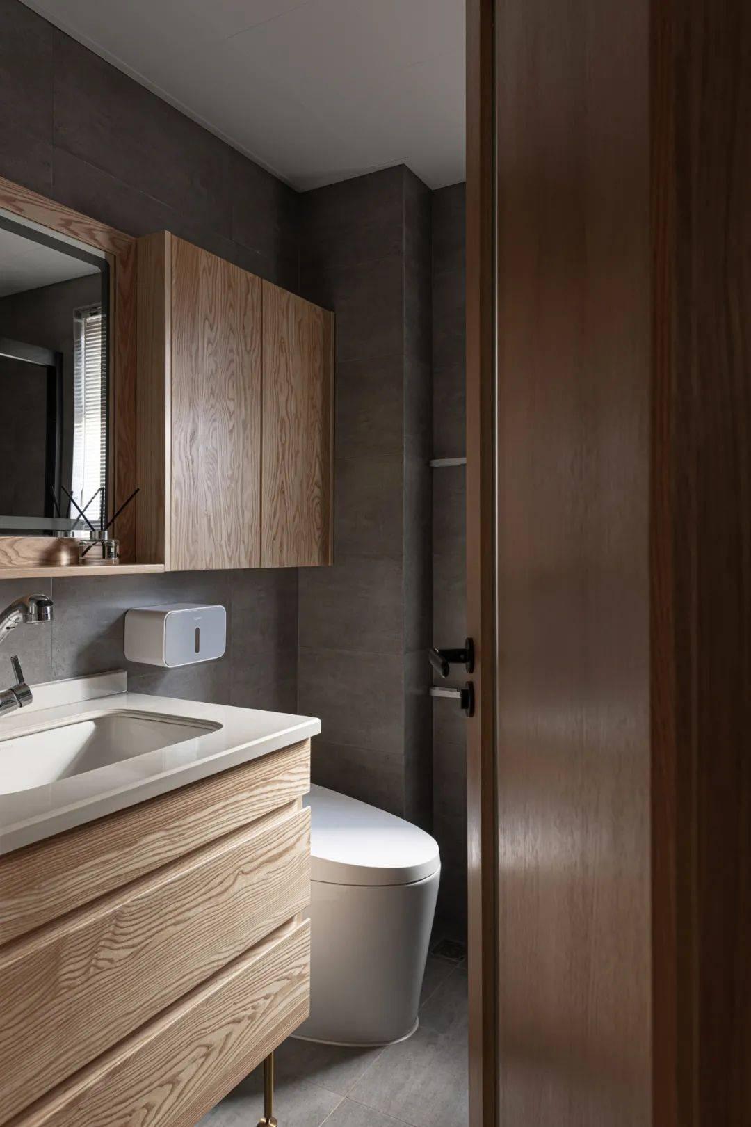 MUJI风家装卫生间设计