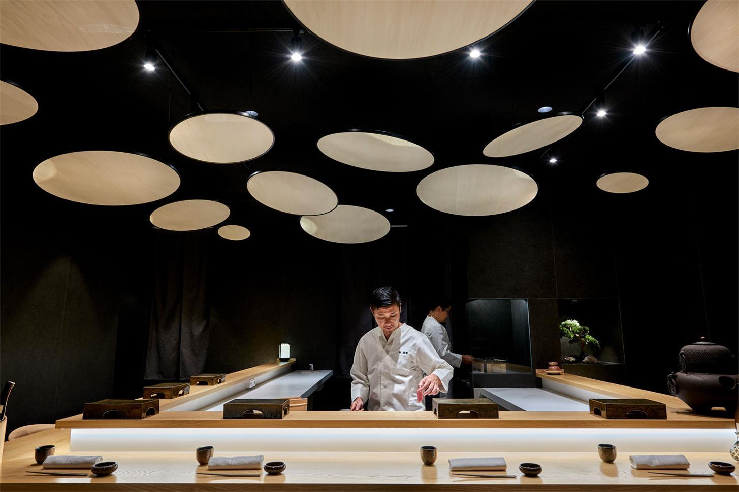 寿司店灯具设计
