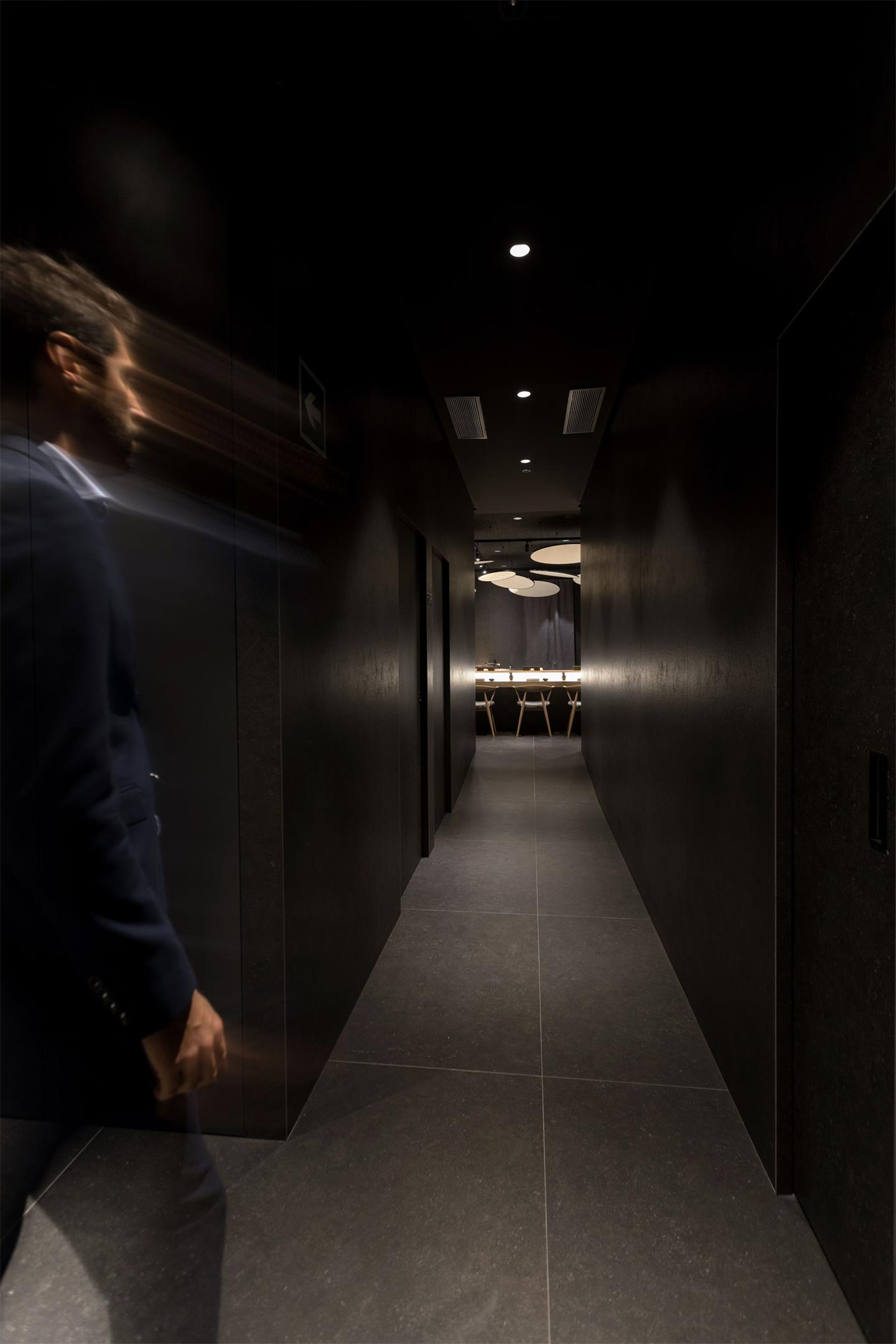 寿司店走廊设计