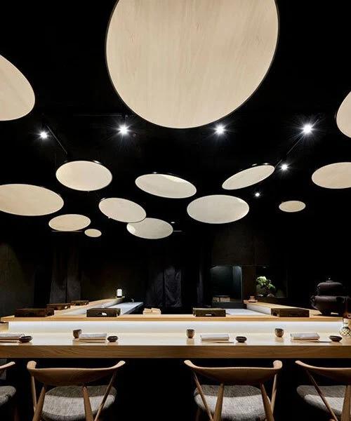 寿司店灯光设计效果