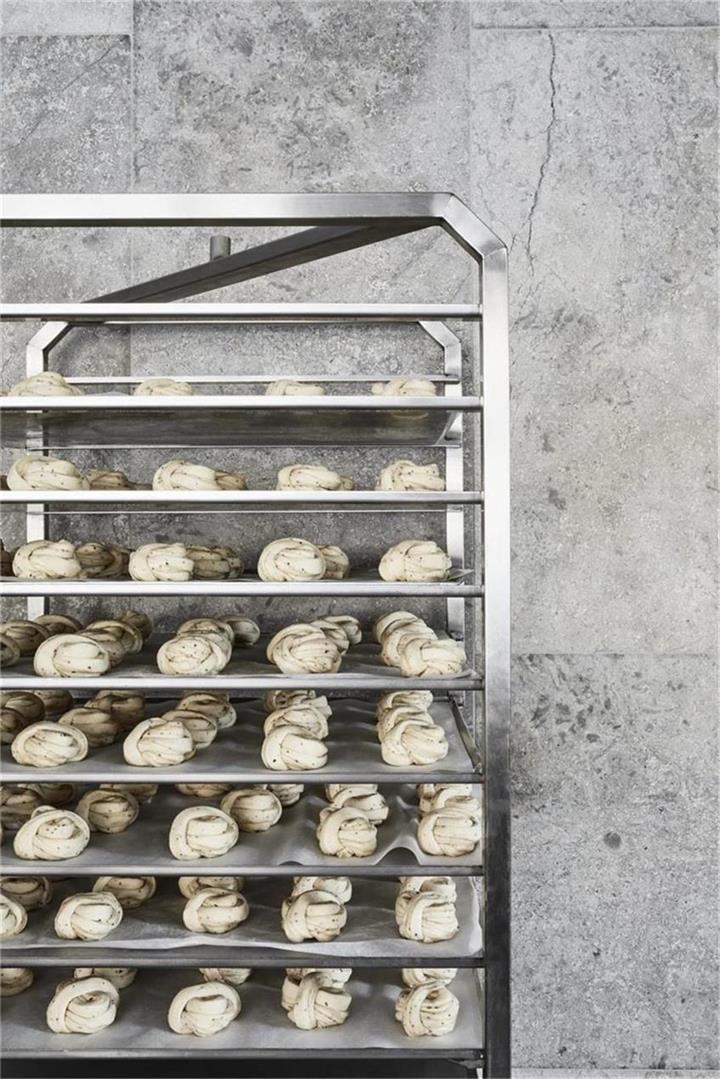 烘焙店置放架设计