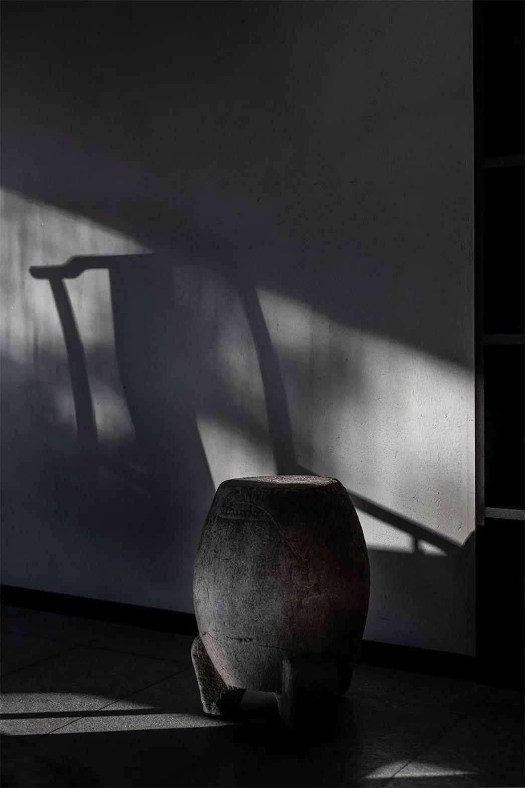 面馆老石凳设计