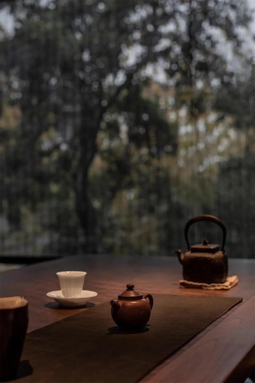 面馆茶桌设计