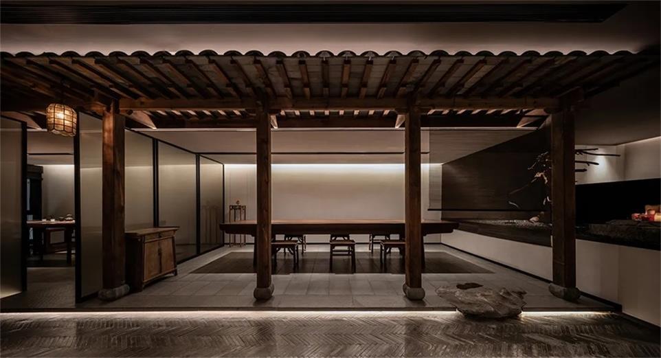 面馆茶室设计