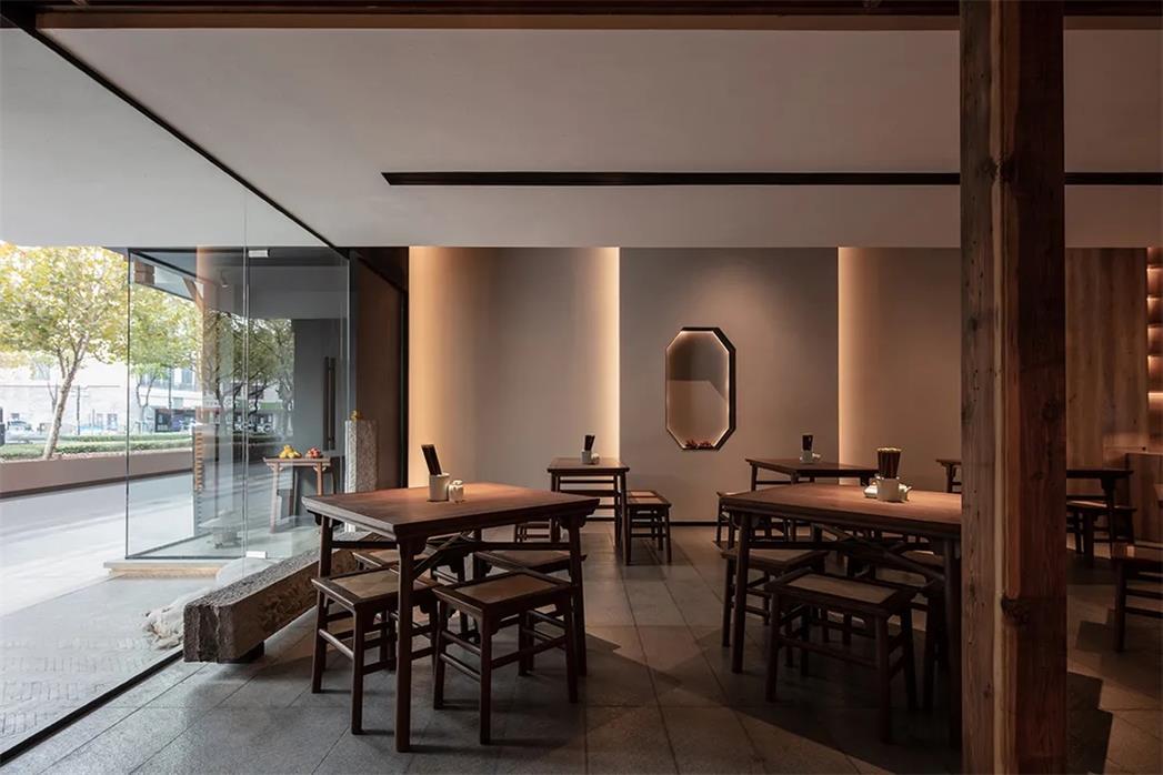 面馆餐厅墙面造型设计