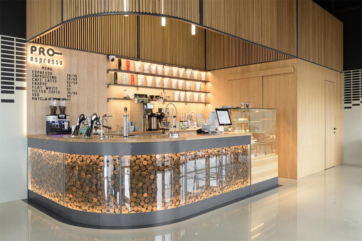 咖啡厅操作台设计
