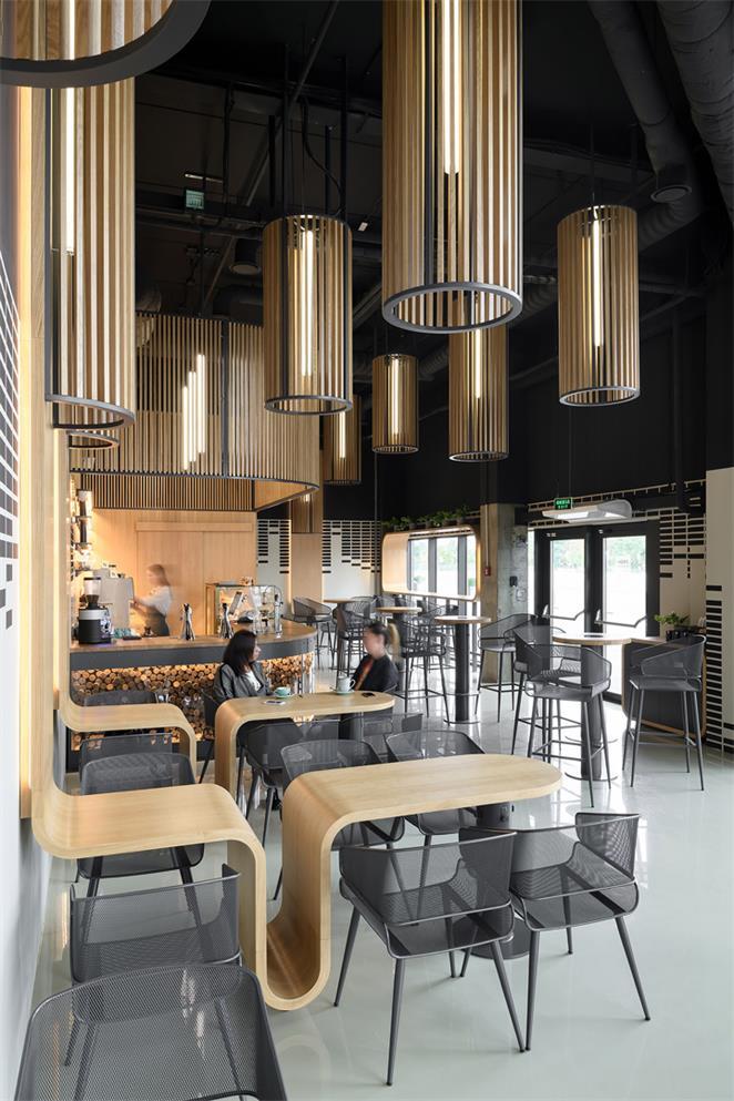 咖啡厅设计全景