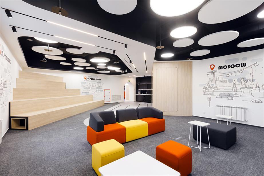 办公室公共区休闲沙发设计
