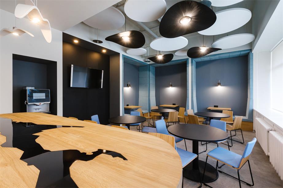 办公室餐厅及茶水间设计