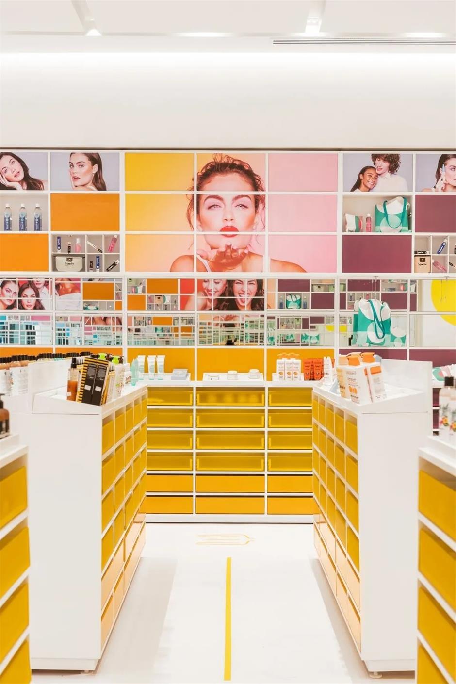 彩妆店设计