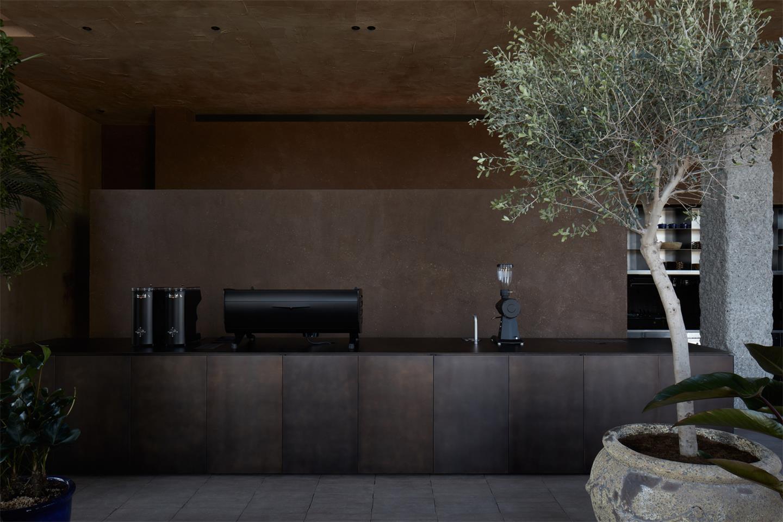 咖啡馆操作台设计