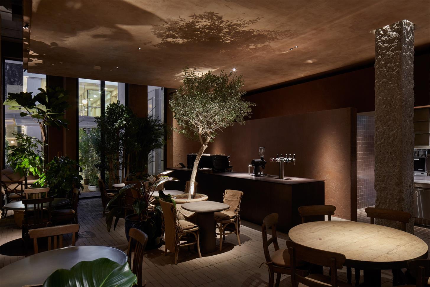 咖啡馆灯光氛围设计