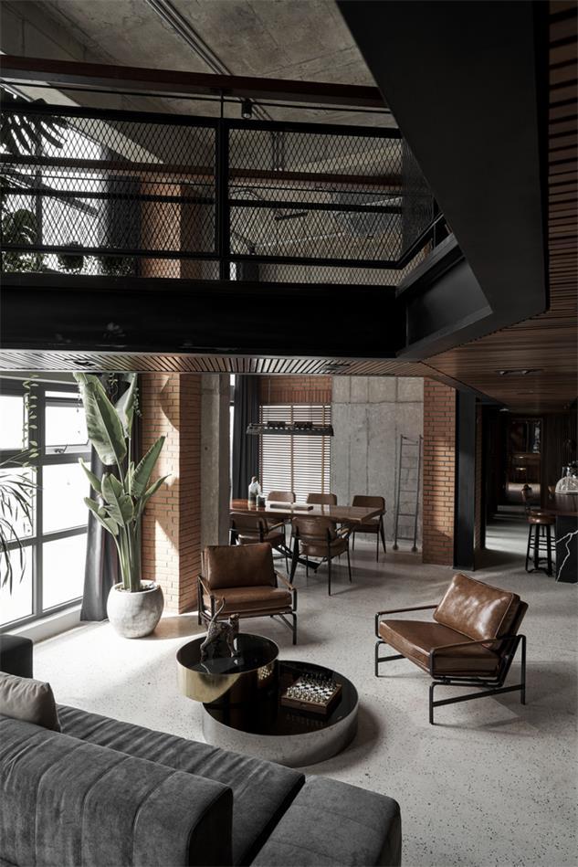 loft风复式设计