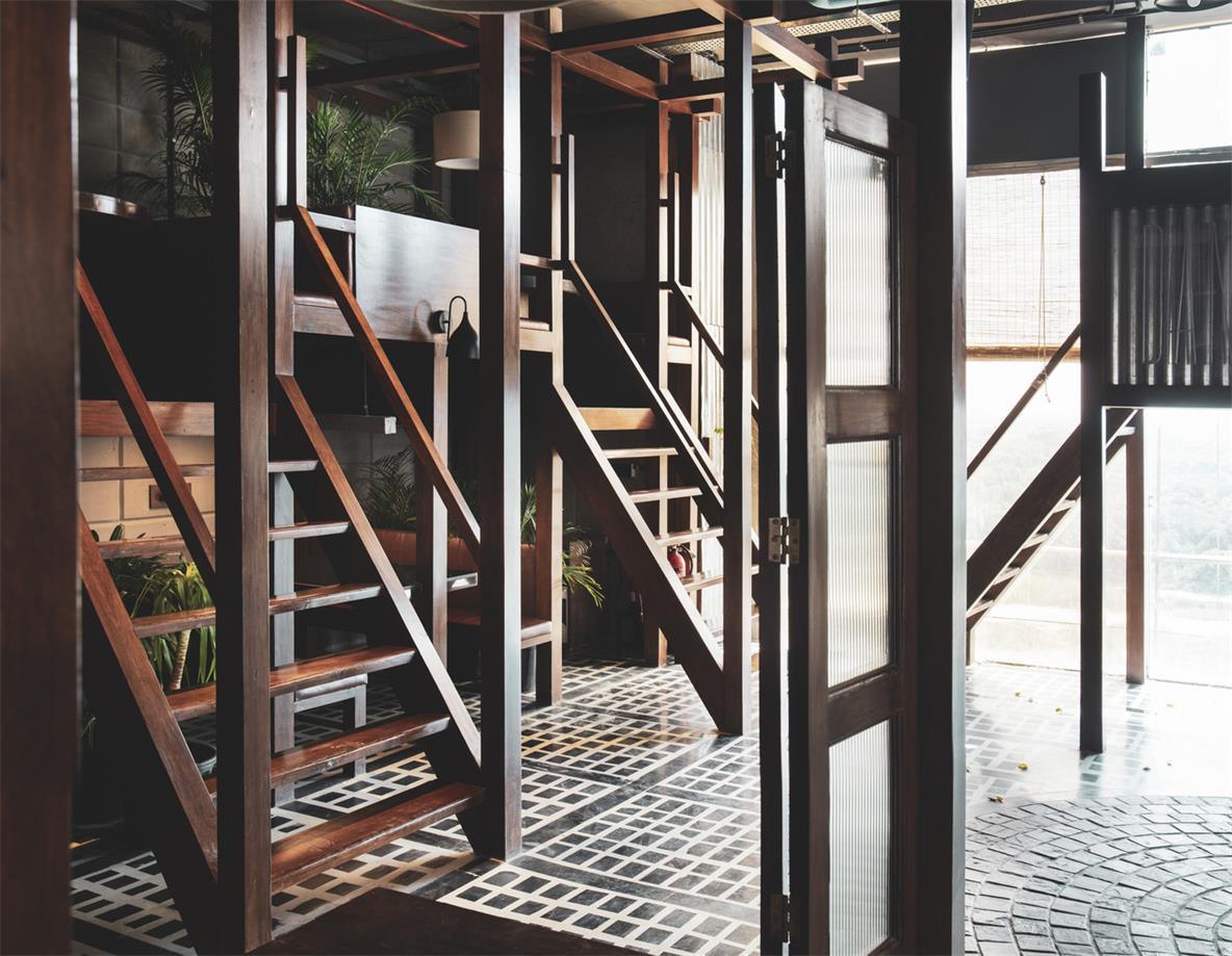 餐厅上下单元设计结构